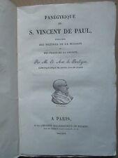 PANEGYRIQUE DE S. VINCENT DE PAUL, 1822.