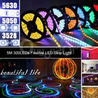 5M Striscia A LED Multicolore 3528/5050 LED RGB Con Telecomando E Alimentatore