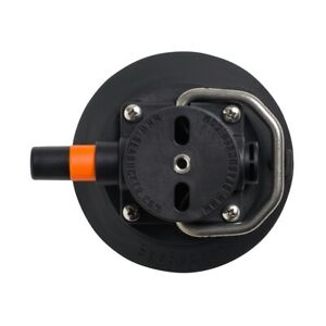 "SeaSucker 4.5"" Vacuum Mount with Stainless Handle - Black | Marine | SSR-VM1013B"