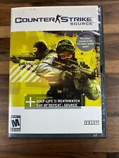Counter Strike Source PC CD Rom Game 4 Disc Set