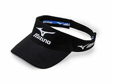 New 2016 Mizuno Golf Tour Visor Adjustable Hat COLOR: Black SIZE: OSFM