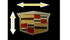 Cadillac 04 05 CTS V Style AFTERMARKET Grille Emblem!