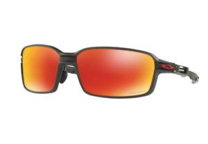 Oakley Lunettes de Soleil Carbone Prime OO6021 0363 Noir Mat Prizm Rubis