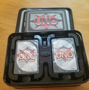 Mattel Card Game UNO (25th Silver Anniversary) in tin SPECIAL EDITION