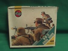 AIRFIX VINTAGE 1/72 HO/OO SCALE 2ND ISSUE WW2 AFRICA CORPS IN BOX  X 48 FULL SET