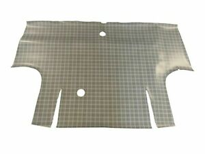 Ford Cougar 1998-2002 Fully Tailored Rubber Boot Mat With Silver Stripe Trim