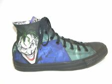 Men's Batman Joker 12 M Black Chuck Taylor Converse All Star Shoes Sneakers