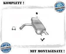 Endschalldämpfer VW Golf V 5, Plus 1.4 16V FSI Auspuff Endtopf Montagesatz