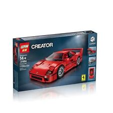 F40 Sports Car Model building kits city 3D blocks Minifigure Building Blocks Toy