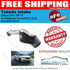 AFE Takeda Stage-2 Pro Dry fits 2013-17 Accord 2.4L / 2014-17 TLX 2.4L TR-1019P