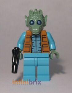 Lego Greedo Minifigure (Alternative Plain Legs) Star Wars NEW cus247