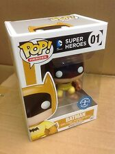 FUNKO POP! Batman Rainbow YELLOW 75th Anniversary #01 Vinyl Figure *Brand New*