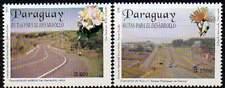 PARAGUAY 2000. Développement du réseau routier. Fleurs (2)