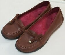 Orthaheel brown comfort loafer shoes Maddie size 7M