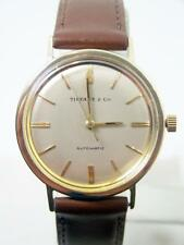 Vintage Solid 14k TIFFANY & CO Automatic / Winding Watch 1960s* EXLNT* SERVICED