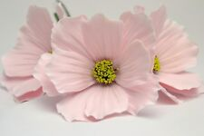 Cosmos flowers, set of 3, handmade,cake topper, wedding, birthdays, anniversary