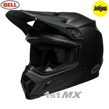 2018 Bell Mx- 9 MIPS Motocross Helmet Solid Matte Black Small 55-56cm