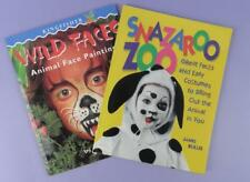 Snazaroo Books - Wild Faces Animal Face Painting + Snazaroo Zoo Costumes
