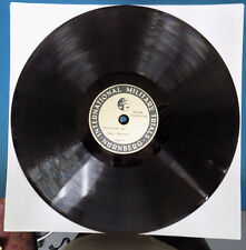 """Extremely Rare 3 Disc Acetate """"Nuremburg Trials"""" 1948 78s - May Be 1 Of A Kind!"""