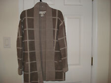 MAX STUDIO WOMEN'S 100% 2-PLY CASHMERE  JACKET/CARDIGAN  SIZE -LARGE   NWT