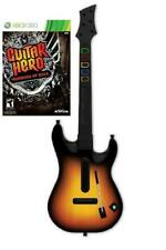 NEW Xbox 360 Guitar Hero World Tour Wireless Guitar & GH Warriors of Rock Game