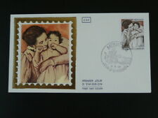 paintings Mary Cassatt mother and child FDC Monaco 56206