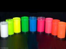 UV-Körpermalfarbe Set 2 (8x25ml Farben: weiß, blau, grün, gelb, rot, ...