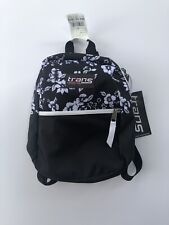 """NWT Trans JanSport Mini Day Backpack - Meadow Aloha Floral 12.5"""" - NEW"""