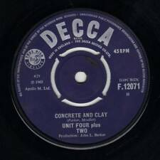 "7"" Unit Four Plus Two – Concrete And Clay / Center Intact // UK 1965"