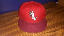 UNLV fitted hat Size 7 New Era nwt