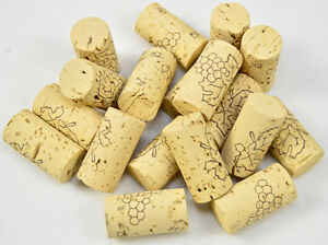 Wine Corks, Natural, High Grade Quality, Bottling Home Brew Wine Making NEW Cork