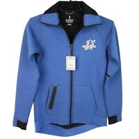 Elevate women's Jacket size XS/TP full zip front blue active gym  (F-1G)