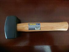 2.5 lbs Heavy Duty Genuine Hickory Wooden Handle Club Lump Hammer