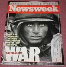 NEWS WEEK MAGAZINE, 03/08/99, VOICES OF THE CENTURY:  AMERICANS AT WAR