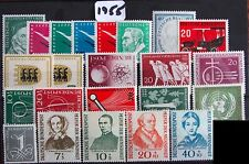 Germany Complete Year 1955 Stamp Set Mint Never Hinged MNH German Stamps