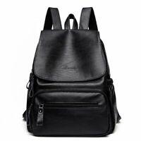 Fashion Backpack Women Faux Leather Casual Elegant Rucksack Shoulder Bag