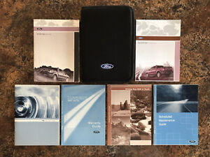 2008 Ford Explorer Sport Trac Owners Manual w/ Case & Supplements - #AJ-AL
