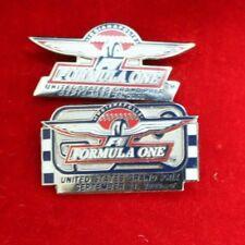 Pair of  Formula-1 Indianapolis United States Grand Prix Lapel Pin IMS F1 2000