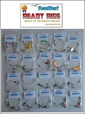 20 Rig Pack Spring/Summer All Species. COD  BASS RAYS CONGER MACKEREL WRASSE