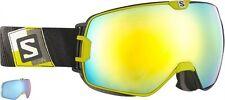Salomon ski goggles xmax jaune lentille + xtra lens 367580 x max x-max cat 1 cat 3