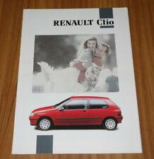 Dépliant RENAULT CLIO 1 de 1992
