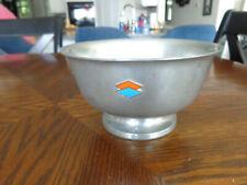 BG&E- Baltimore Gas & Electric-1866-1966 double dimond Stieff Pewter Bowl