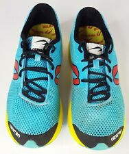 Newton Distance Elite Running Shoes Sneakers Trainers Blue Yellow M008115 US 8.5
