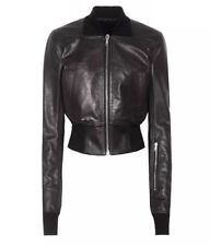 377bf8d1c Rick Owens Leather Bomber Coats & Jackets for Women for sale | eBay