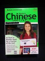 Instant Immersion Chinese Mandarin Levels 1,2 & 3