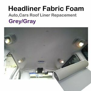 1.5Mx3M Automobile Headliner Trunk Lining Fabric Comfortable Insulation Overall