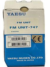 Yaesu Fm Unit For Yaesu Ft-840 Fm Unit-747