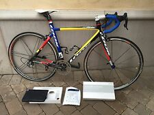 NEW Look S86  carbon road bike Campy SMALL/Mondrian painted  Limited  Edition