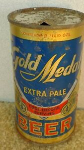 *OLD* Gold Medal extra pale Flat Top Beer can
