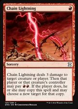 Chain Lightning x4 Magic the Gathering 4x Eternal Masters mtg card lot